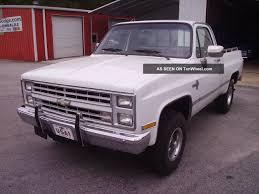 100 Chevy Trucks 4x4 1987 Silverado 5 7 Liter Fi Engine Everything Works Lk