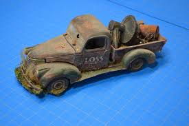 100 41 Chevy Truck Pro Built 19 Pickup Weathered Rust Junker Detailed