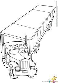 Coloring Pages Truck Book Monster Trucks Online Mack Kindergarten Free Printable