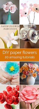 Amazing Collection Of DIY Paper Flower Tutorials