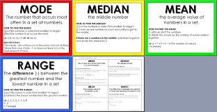 mode median and range 6 1 mode median lessons tes teach