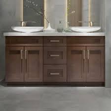 Lowes Canada Bathroom Vanity Cabinets cowry vac ep shaker style bathroom vanity set with 15 in side