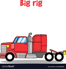 Big Rig Truck Of Royalty Free Vector Image - VectorStock Nikola Corp One Big Rig Truck Of Royalty Free Vector Image Vecrstock Semis And Rig Trucks Virgofleet Nationwide Show Wildwood Florida Big Rig Pics Cvetteforum Lil Rigs Mechanic Gives Pickup An Eightnwheeler Li Show Factbox Manufacturers Plans For Electric Big Trucks Reuters Books 9th Annual Eau Claire Truck 5th Tractor Hot Wheels Crashin Blue Flatbed Shop Img_1202