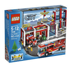 Amazon.com: LEGO City Fire Station (7208): Toys & Games