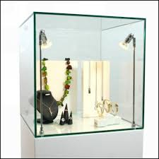 funiture fabulous lighted display glass display cases glass