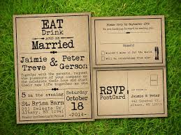 Free Rustic Wedding Program Templates Vintage Style