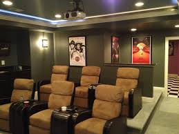 Basement custom theater Ashburn