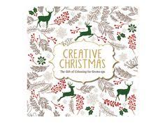 Creative Christmas Adult Colouring Book Cooksongold