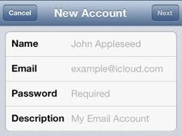 How To Manually Add An Email Account To An iPhone