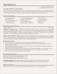Project Management Resume Awesome Manager Templates Lean Examples