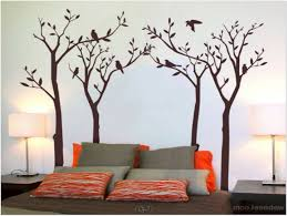 Tree Wall Painting Bunk Beds For Adults Rooms Kids Girls Bedroom Curtains Teenage Girl Ideas D43d