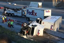 FedEx Truck Swerves To Avoid Two Crashes, Topples On 5 Freeway - Los ... Photos Fedex Truck Crashes Into West Palm Beach Home Sun Sentinel 3 Dead Hurt After Hits Suv On Florida Turnpike Hror As Train Cuts Fed Ex In Half Smashing It Big Rig Crash Prompts Wb 210 Freeway Lane Closures Pasadena Omg Top Truck Video Overload Makes Jumping Truck Woman Killed Headon Crash With A Youtube Front Of Vogue Center California Student Bus At Least 10 Dead Time Semi Didnt Brake Before Hitting Bus Abc7com Uta Says Human Error Caused Between Frontrunner Commuter Smashes And Two Cnn