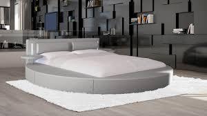 Chambre Avec Lit Rond Lit Rond Design Pour Lit Rond Avec Tablettes Et Leds Vonn Mobilier Moss