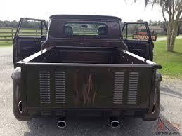 100 1965 Chevy Stepside Truck Pickup Street Rod Frame Off Restoration Step Side