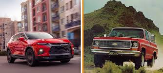 100 Chevy Hybrid Truck Heres Why GM Didnt Make The New Chevrolet Blazer A Rugged OffRoad