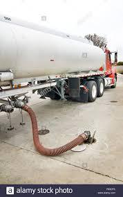 100 Gasoline Truck Fuel Delivering Stock Photo 97741173 Alamy