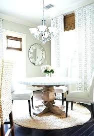 What Size Rug For 72 Dining Table Round Rugs Room Awesome Attractive Under Kitchen T Best