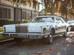 Parked In Drive: 1979 Lincoln Continental Mark V Bill Blass Edition