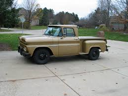 1960 Chevrolet Apache 10 Shortbed Steside Pick Up 6061 Original ...