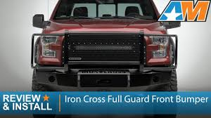 100 Iron Cross Truck Bumpers 20152017 Ford F150 Full Guard Front Bumper Review