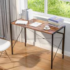 fangqi schreibtisch faltbarer klapptisch pc tisch bürotisch officetisch arbeitstisch für büro wohnzimmer schule kaufen otto