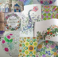 96 Pages Secret Garden KOREA VERSION An Inky Treasure Hunt And Coloring Book For Children Adult Graffiti Painting Drawing In Books From Office