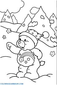 Coloriage L Hiver Approche à Imprimer Pour Les Enfants Dessin Cheval