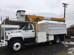 1997 GMC C7500 Boom & Bucket Truck With 55' Teco Saturn Lift, Dump ...