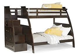 amazon com canwood overland bunk bed with built in stairs drawers
