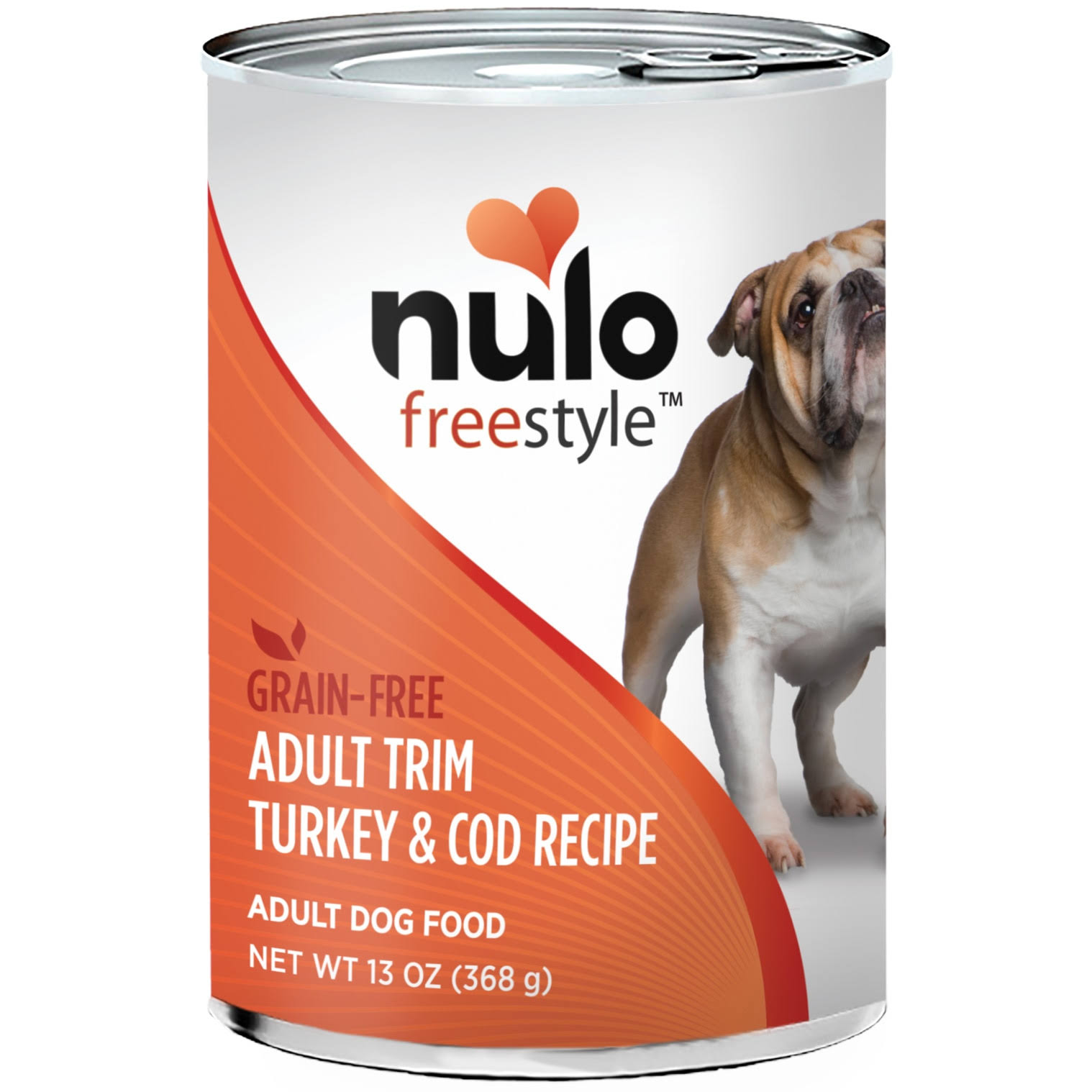 Nulo Freestyle Grain-Free Adult Trim Turkey & Cod Wet Dog Food, 13 oz.