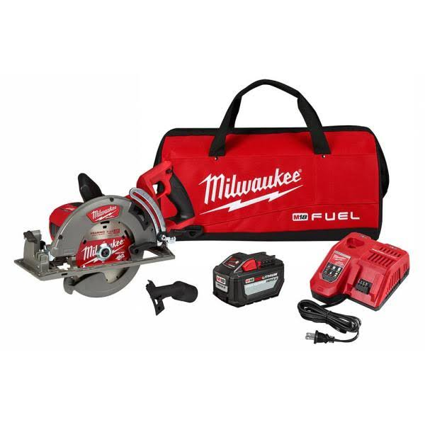 "Milwaukee 2830-21HD M18 Fuel Rear Handle 7-1/4"" Circular Saw Kit"