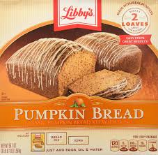 Down East Pumpkin Bread Recipe by Amazon Com Libby U0027s Pumpkin Bread Kit With Icing 56 1 Ounce Kits