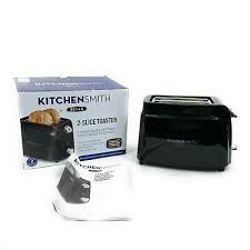 toaster hamilton 2 slice modern chrome toaster new