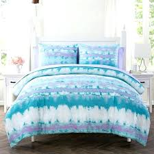 blue tie dye duvet cover tie dye quilt covers hand dyed sheet set