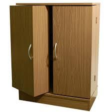 Leslie Dame Sliding Door Media Cabinet by Cd And Dvd Storage Cabinet With Doors Oak Finish Best Cabinet