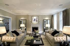 lhace light grey walls white leather furniture and wood floors