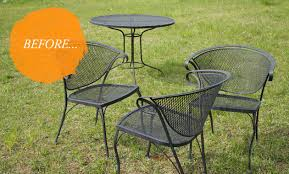 Vintage Wrought Iron Porch Furniture by Chairs Vintage Wrought Iron Patio Furniture Transform Itself