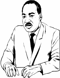 King Coloring Pages Martin Luther Page Classroom Jr Zonae