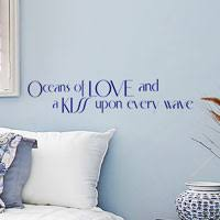 Bedroom Wall Decals See Romantic Quotes And Words By WiseDecor