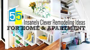 55 Clever Home Remodeling Ideas - YouTube Clever Home Gym Exercises Using Own Ideas For Interior Design Office 40 Room Designs 39 Diy Fniture Hacks Joy Smart Organizing For Small Spaces Hgtv Bathroom New Signs Excellent Best 25 Apartment Storage Ideas On Pinterest 55 Remodeling Youtube Decorating Zimagz Homivo Chainimage And Themes Traditional Decor Top Amazing Emejing Contemporary