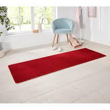 design kurzflor teppich uni einfarbig farben rot grün rosa creme braun lila blau oder grau