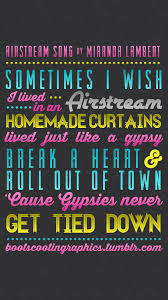 Airstream Song By Miranda Lambert IPhone Wallpaper