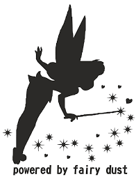 Tinkerbell Pumpkin Designs by Powered By Fairy Dust Car Bumper Sticker Vinyl Decal Funny Womans
