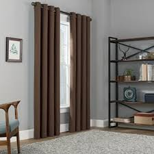 buy brown blackout curtains from bed bath beyond