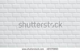 white ceramic brick tile wall background stock photo 497270893