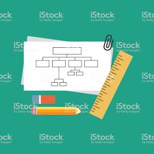 Ilustración De Carta De Proyecto Plan De Flujo De Negocio Y Más
