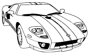 dessin pour imprimer coloriage voiture pour imprimer le coloriage voiture az