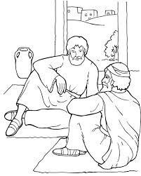 Printable Coloring Activity Sheets About Paul And Barnabas