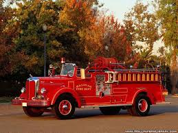Old Fire Truck Mack