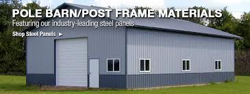 Pole Barn Post Frame Materials at Menards